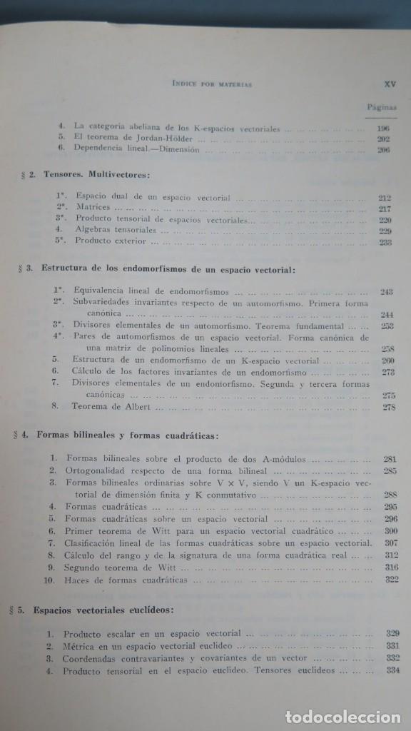 Libros de segunda mano de Ciencias: GEOMETRIA BASICA. P. ABELLANAS - Foto 4 - 191174311