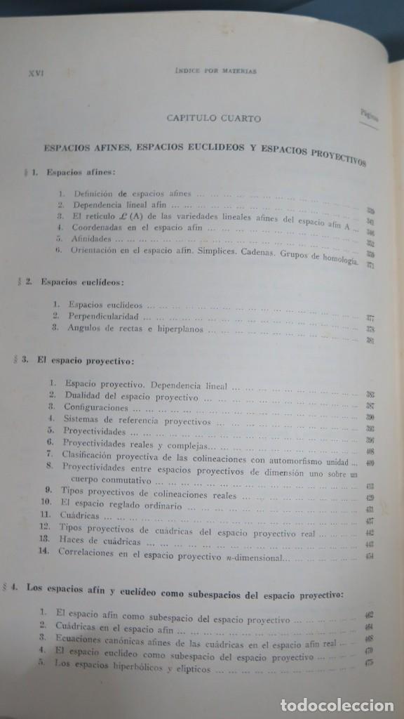 Libros de segunda mano de Ciencias: GEOMETRIA BASICA. P. ABELLANAS - Foto 5 - 191174311