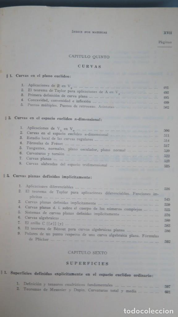 Libros de segunda mano de Ciencias: GEOMETRIA BASICA. P. ABELLANAS - Foto 6 - 191174311