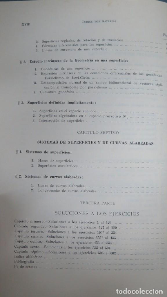 Libros de segunda mano de Ciencias: GEOMETRIA BASICA. P. ABELLANAS - Foto 7 - 191174311