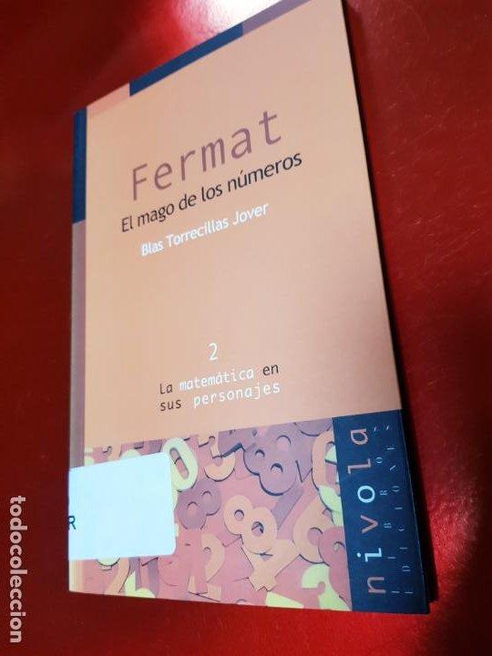 Libros de segunda mano de Ciencias: LIBRO-FERMAT-EL MAGO DE LOS NÚMEROS-NÍVOLA-1ªEDICIÓN-VER FOTOS - Foto 2 - 191174833