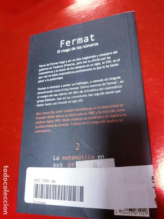 Libros de segunda mano de Ciencias: LIBRO-FERMAT-EL MAGO DE LOS NÚMEROS-NÍVOLA-1ªEDICIÓN-VER FOTOS - Foto 4 - 191174833