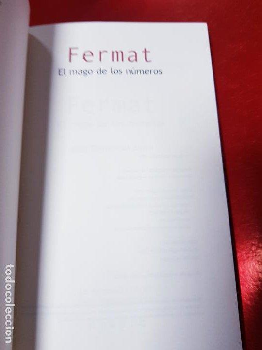 Libros de segunda mano de Ciencias: LIBRO-FERMAT-EL MAGO DE LOS NÚMEROS-NÍVOLA-1ªEDICIÓN-VER FOTOS - Foto 6 - 191174833