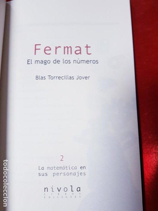Libros de segunda mano de Ciencias: LIBRO-FERMAT-EL MAGO DE LOS NÚMEROS-NÍVOLA-1ªEDICIÓN-VER FOTOS - Foto 8 - 191174833