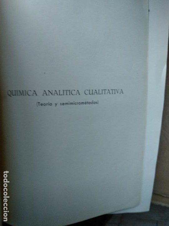 Libros de segunda mano de Ciencias: Química analítica cualitativa - Burriel, Lucena y Arribas - Ed. Paraninfo - Foto 2 - 191200317