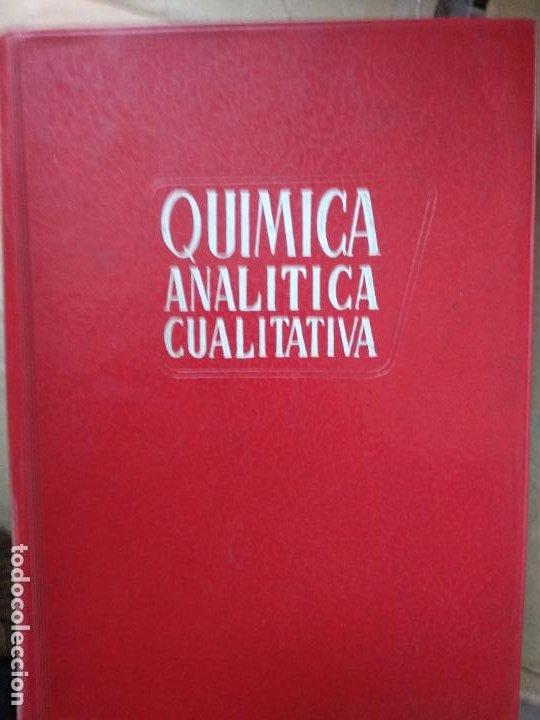 QUÍMICA ANALÍTICA CUALITATIVA - BURRIEL, LUCENA Y ARRIBAS - ED. PARANINFO (Libros de Segunda Mano - Ciencias, Manuales y Oficios - Física, Química y Matemáticas)