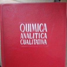 Libros de segunda mano de Ciencias: QUÍMICA ANALÍTICA CUALITATIVA - BURRIEL, LUCENA Y ARRIBAS - ED. PARANINFO. Lote 191200317