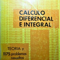 Libros de segunda mano de Ciencias: CALCULO DIFERENCIAL E INTEGRAL - MCGRAW-HILL - FRANK AYRES, JR. - SERIE SCHAUM. Lote 191229181