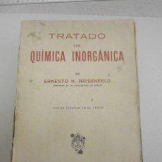 Libros de segunda mano de Ciencias: TRATADO DE QUÍMICA INORGANICA MANUEL MARIN 1942.. Lote 191275878