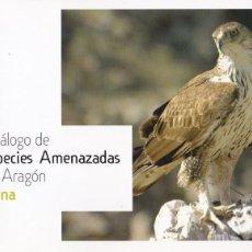 Livres d'occasion: CATÁLOGO DE ESPECIES AMENAZADAS EN ARAGÓN : FAUNA / COORDINACIÓN MANUEL ALCÁNTARA DE LA FUENTE. Lote 191340632