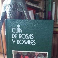 Libros de segunda mano: COGGIATTI: GUIA DE ROSAS Y ROSALES, (GRIJALBO, 1988).. Lote 191368738