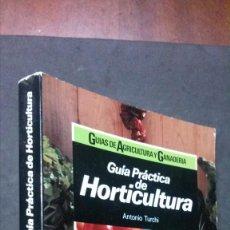 Libros de segunda mano: GUÍA PRÁCTICA DE HORTICULTURA-ANTONIO TURCHI-CEAC-PRIMERA EDICIÓN 1987. Lote 191378031