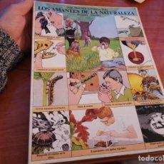 Libros de segunda mano: ESPECTACULAR GUÍA PRÁCTICA ILUSTRADA LOS AMANTES DE LA NATURALEZA MICHAEL CHINERY 1980 MUY BUENO. Lote 191378063