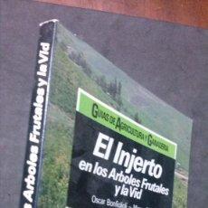 Libros de segunda mano: EL INJERTO EN LOS ÁRBOLES FRUTALES Y LA VID-OSCAR BONFIGLIOLI-CEAC-1987. Lote 191378345