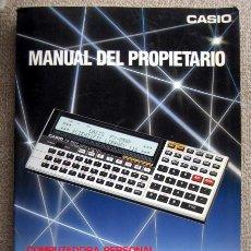 Libros de segunda mano de Ciencias: CASIO. MANUAL DEL PROPIETARIO. COMPUTADORA PERSONAL SCIENTIFIC LIBRARY 116. FX-850P. Lote 191470837