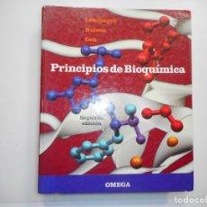 Libros de segunda mano: ALBERT L. LEHNINGER, DAVID L. NELSON, MICHAEL M. COX PRINCIPIOS DE BIOQUÍMICA Y98155. Lote 191878982