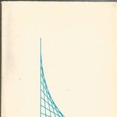 Libros de segunda mano de Ciencias: PROBLEMAS DE ALGEBRA LINEAL. TOMO I - E. TEBAR FLORES. Lote 191988238
