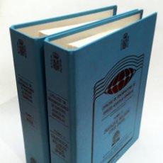 Libros de segunda mano: CATÁLOGO DE DENOMINACIONES DE ESPECIES ACUÍCOLAS ESPAÑOLAS - TOMO 1 (PECES) Y TOMO 2 (CRUSTÁCEOS). Lote 192086205