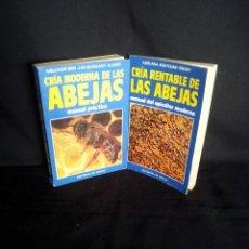 Libros de segunda mano: CRIA MODERNA Y RENTABLE DE LAS ABEJAS (2 LIBROS) - VARIOS AUTORES, EDITORIAL VECCHI 1984/85. Lote 192519110