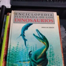 Libros de segunda mano: ENCICLOPEDIA ILUSTRADA DE LOS DINOSAURIOS ED EL PRADO 250 ILUSTRACIONES MAPAS DOUGAL DIXON. Lote 179544857