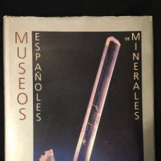 Libros de segunda mano: MUSEOS ESPAÑOLES DE MINERALES. ISTITUTO FEO MINERO DE ESPAÑA.. Lote 193026645