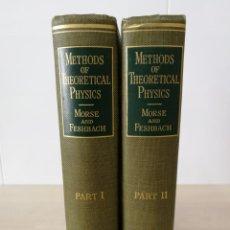 Libros de segunda mano de Ciencias: METHODS OF THEORETICAL PHYSICS. MORSE & FESHBACH. 2 TOMOS - 1953. Lote 194116260