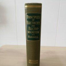 Libros de segunda mano de Ciencias: PRINCIPLES OF ELECTRICITY AND ELECTROMAGNETISM (INTERNATIONAL SERIES IN PURE AND APPLIED PHYSICS). Lote 194117925