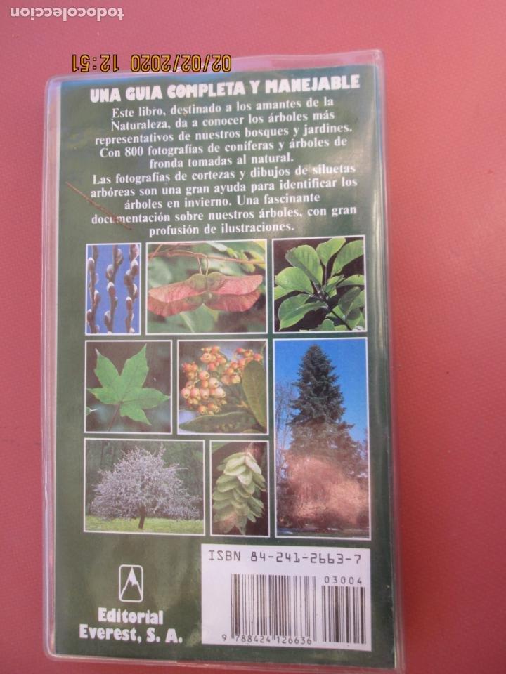 Libros de segunda mano: GRAN GUÍA DE LA NATURALEZA - ARBOLES - EDITORIAL EVEREST - 1999. - Foto 2 - 194223326