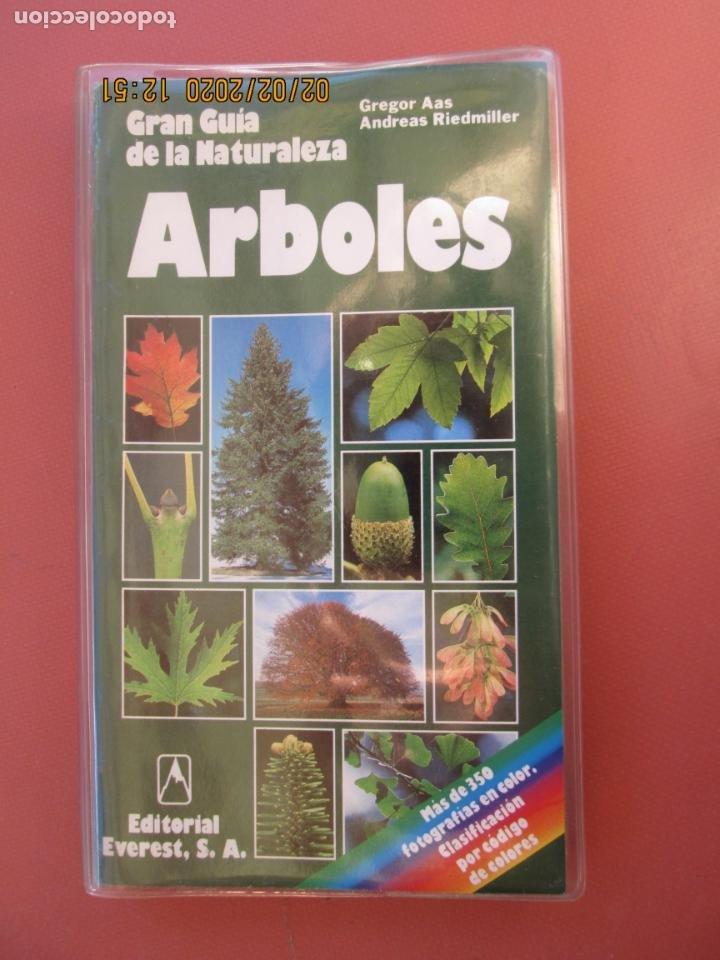 GRAN GUÍA DE LA NATURALEZA - ARBOLES - EDITORIAL EVEREST - 1999. (Libros de Segunda Mano - Ciencias, Manuales y Oficios - Biología y Botánica)