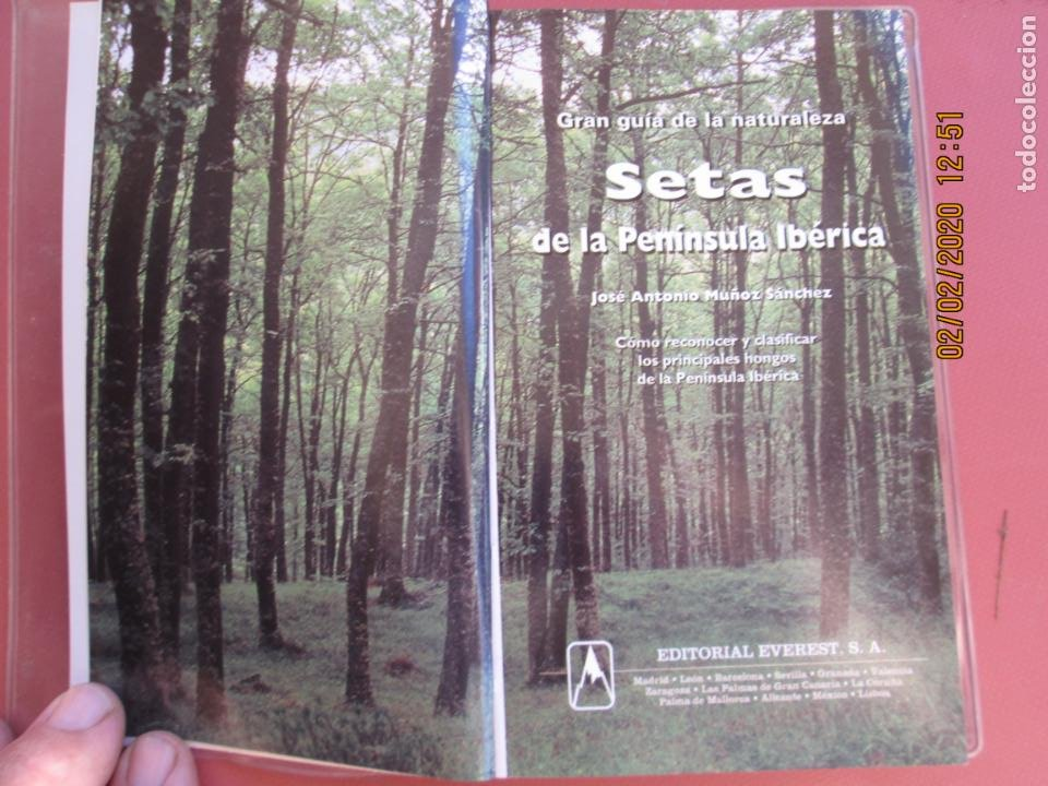 Libros de segunda mano: GRAN GUÍA DE LA NATURALEZA - SETAS DE LA PENÍNSULA IBÉRICA - EDITORIAL EVEREST 1998. - Foto 3 - 194224133