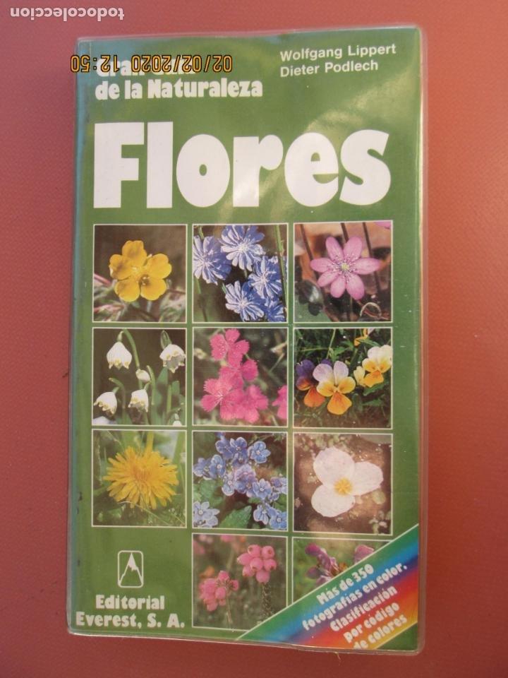 GRAN GUÍA DE LA NATURALEZA - FLORES - W. LIPPERT/D. PODLECH - EDITORIAL EVEREST (Libros de Segunda Mano - Ciencias, Manuales y Oficios - Biología y Botánica)