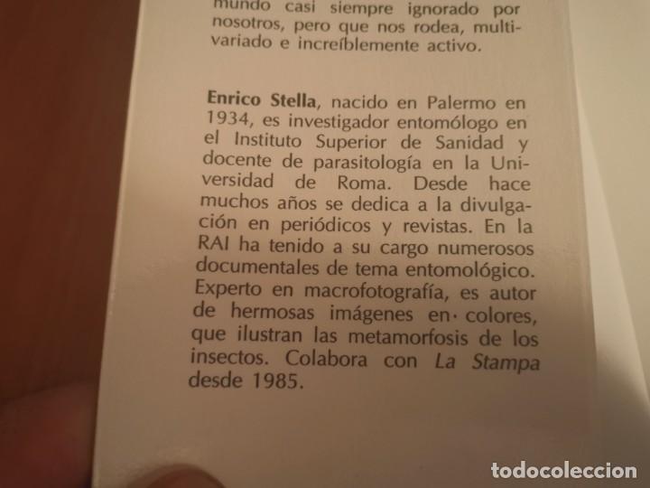 Libros de segunda mano: MAGNÍFICO LIBRO ELOGIO DEL INSECTO POR ENRICO STELLA ARIEL CIENCIA 1993 - Foto 3 - 194246817