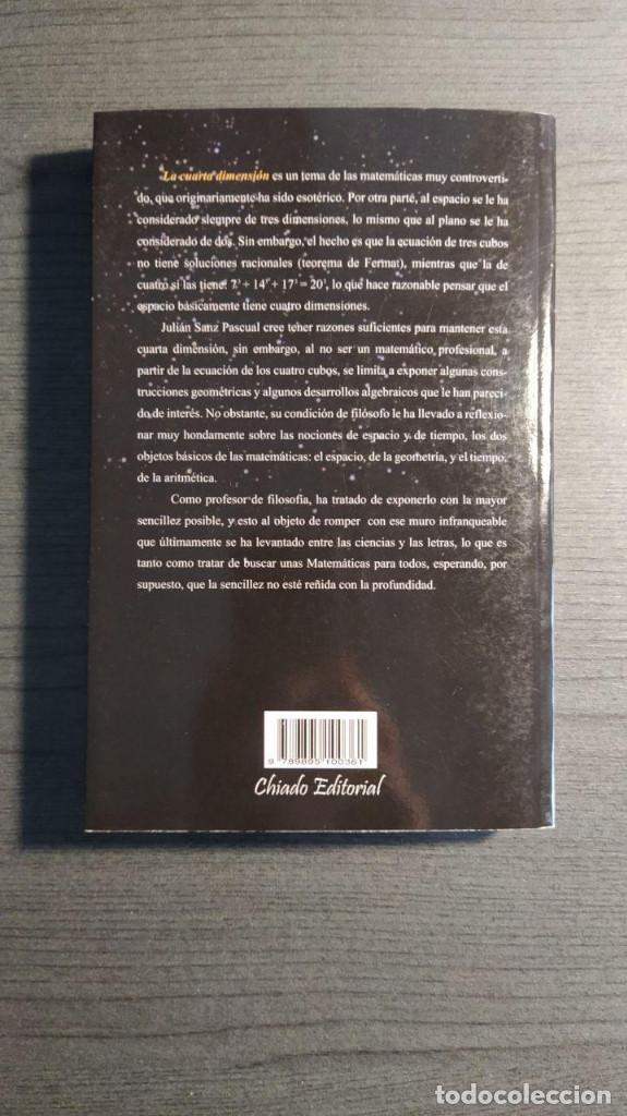 Libros de segunda mano de Ciencias: La cuarta dimensión Julián Sanz Pascual Chiado Colección Compendium - Foto 4 - 194248555