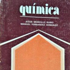 Libros de segunda mano de Ciencias: QUIMICA-COU - JESUS MORCILLO RUBIO / MANUEL FERNANDEZ GONZALEZ - ANAYA . Lote 194295133