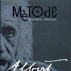 Libros de segunda mano de Ciencias: MONOGRAFIES MÈTODE - ALBERT EINSTEIN: EL SEU SEGLE I LA SEUA CIÈNCIA. Lote 194313813
