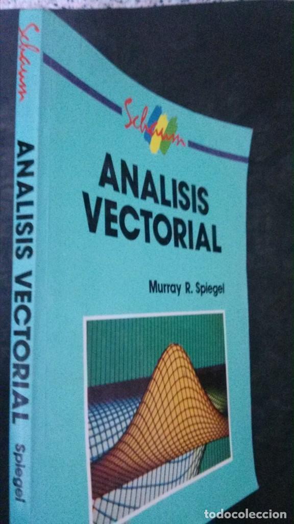 ANÁLISIS VECTORIAL-MURRAY R. SPIEGEL-MCGRAW-HILL-IMPRESO EN MÉXICO, 1991 (Libros de Segunda Mano - Ciencias, Manuales y Oficios - Física, Química y Matemáticas)