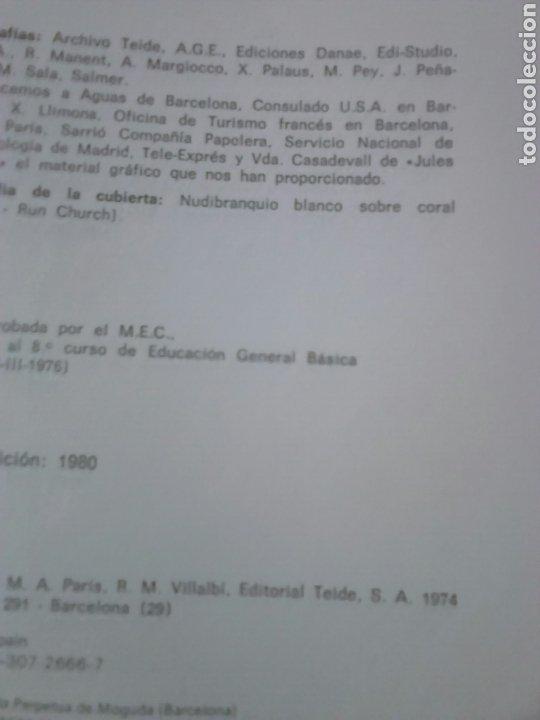 Libros de segunda mano de Ciencias: Libro,materia y vida,editorial teide,tema ciencia y quimica,año 1980 - Foto 2 - 194333782