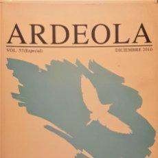 Libros de segunda mano: ARDEOLA VOL 57 (ESPECIAL) BIRD NUMBERS 2010 . MONITORING, INDICATORS AND TARGETS.. Lote 194334770