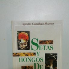 Libros de segunda mano: SETAS Y HONGOS DE LA RIOJA. Lote 194336568