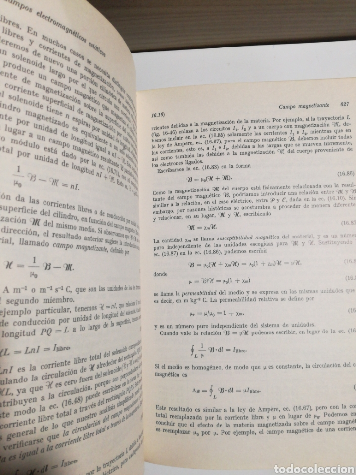 Libros de segunda mano de Ciencias: Fisica vol.II campos y ondas Alonso finn - Foto 5 - 194338248