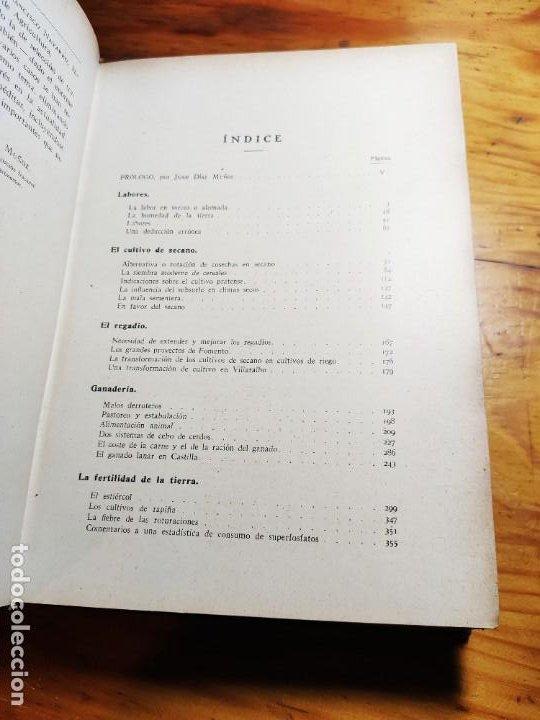 Libros de segunda mano: AGRICULTURA ESPAÑOLA. ANTOLOGÍA DE ARTÍCULOS, MONOGRAFÍAS Y CONFERENCIAS. CASCÓN Y MARTÍNEZ, J. 1934 - Foto 4 - 194339663