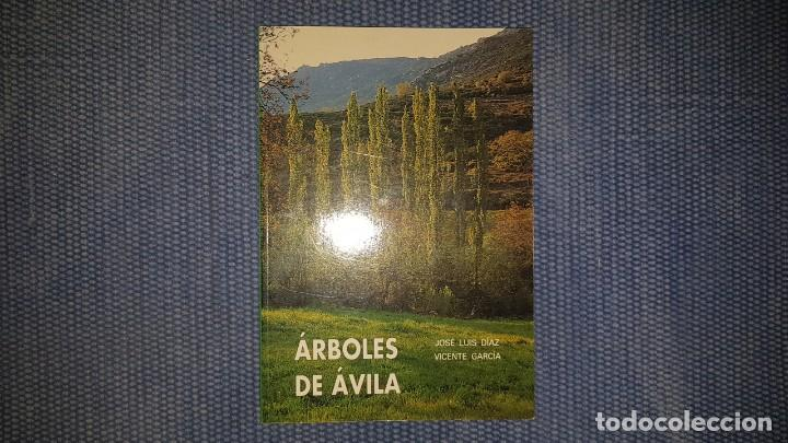 ÁRBOLES DE ÁVILA (Libros de Segunda Mano - Ciencias, Manuales y Oficios - Biología y Botánica)