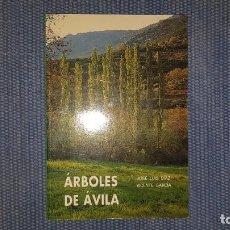 Libros de segunda mano: ÁRBOLES DE ÁVILA. Lote 194345108