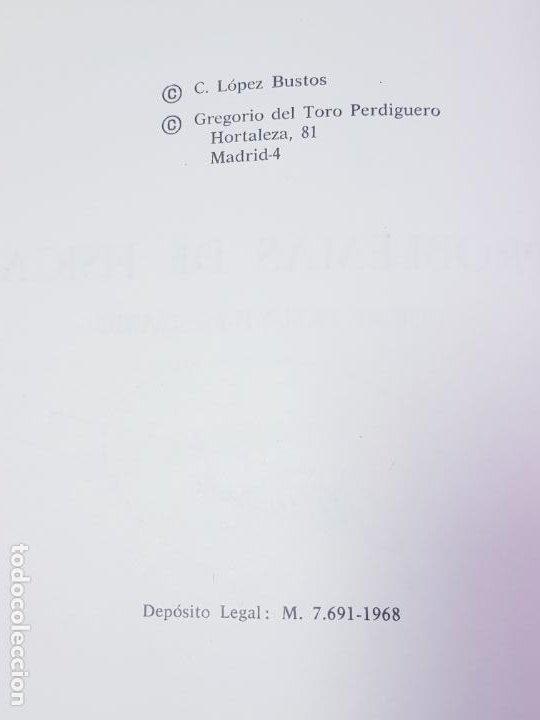 Libros de segunda mano de Ciencias: LIBRO-PROBLEMAS DE FÍSICA-1968-CARLOS LÓPEZ BUSTOS-PREUNIVERSITARIO-ENUNCIADOS Y SOLUCIONES-VER FOTO - Foto 9 - 194347977