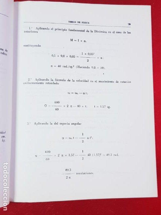 Libros de segunda mano de Ciencias: LIBRO-PROBLEMAS DE FÍSICA-1968-CARLOS LÓPEZ BUSTOS-PREUNIVERSITARIO-ENUNCIADOS Y SOLUCIONES-VER FOTO - Foto 13 - 194347977