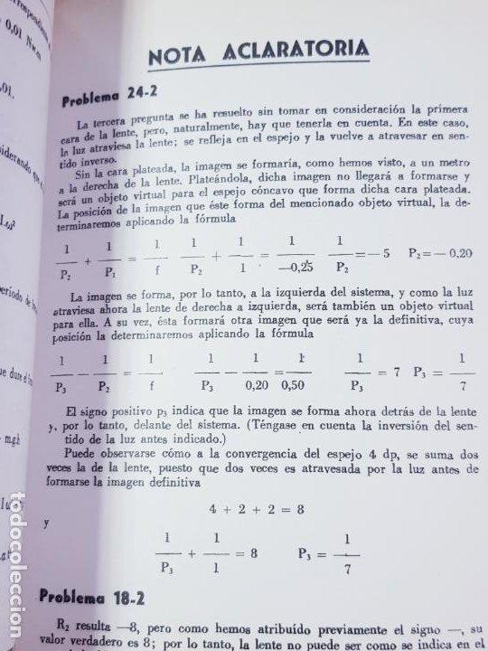 Libros de segunda mano de Ciencias: LIBRO-PROBLEMAS DE FÍSICA-1968-CARLOS LÓPEZ BUSTOS-PREUNIVERSITARIO-ENUNCIADOS Y SOLUCIONES-VER FOTO - Foto 15 - 194347977