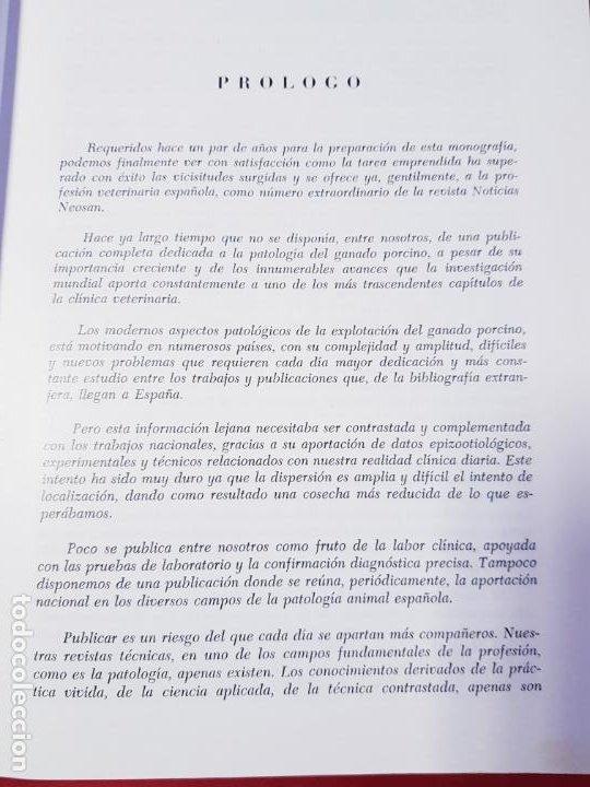 Libros de segunda mano: PATOLOGÍA Y CLÍNICA DEL GANADO PORCINO-1980-trata coronavirus-NEOSÁN-TAPAS DURAS-EXCELENTE - Foto 9 - 194351120