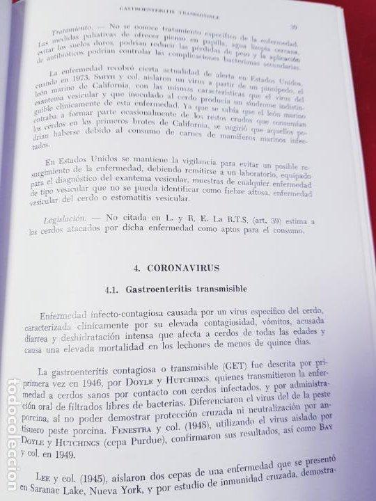 Libros de segunda mano: PATOLOGÍA Y CLÍNICA DEL GANADO PORCINO-1980-trata coronavirus-NEOSÁN-TAPAS DURAS-EXCELENTE - Foto 22 - 194351120