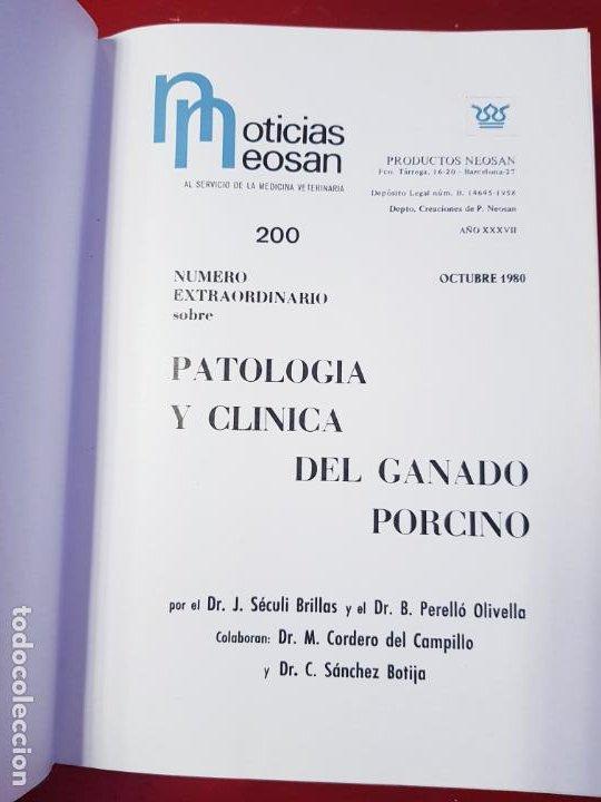 Libros de segunda mano: PATOLOGÍA Y CLÍNICA DEL GANADO PORCINO-1980-trata coronavirus-NEOSÁN-TAPAS DURAS-EXCELENTE - Foto 24 - 194351120