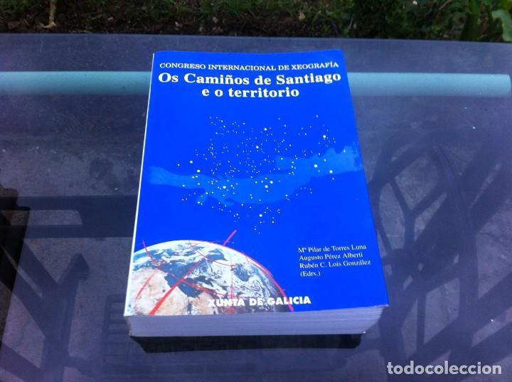 CONGRESO INTERNACIONAL DE XEOGRAFÍA. OS CAMIÑOS DE SANTIAGO E O TERRITORIO. 1993 (Libros de Segunda Mano - Ciencias, Manuales y Oficios - Paleontología y Geología)
